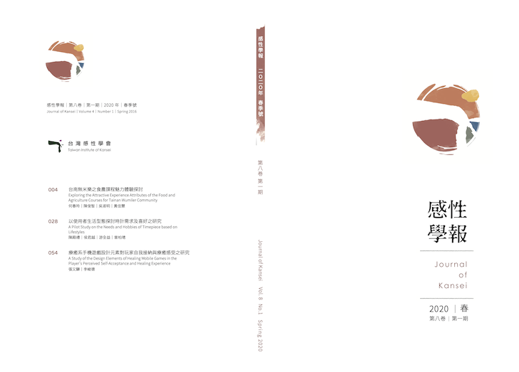 感性學報8(1)封面頁
